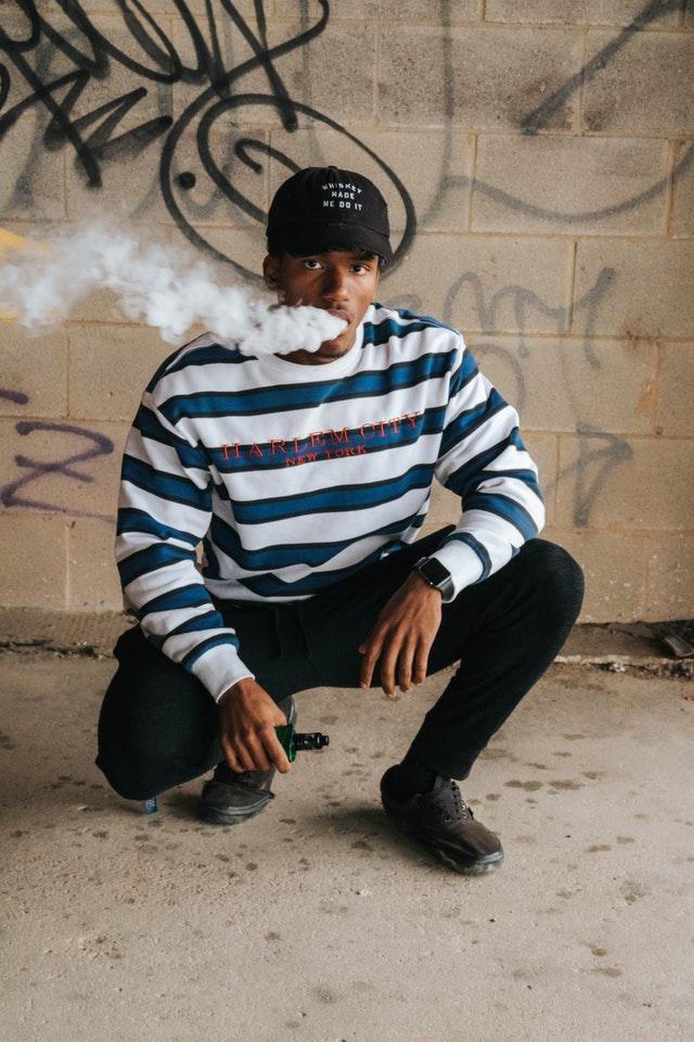 E væske røg